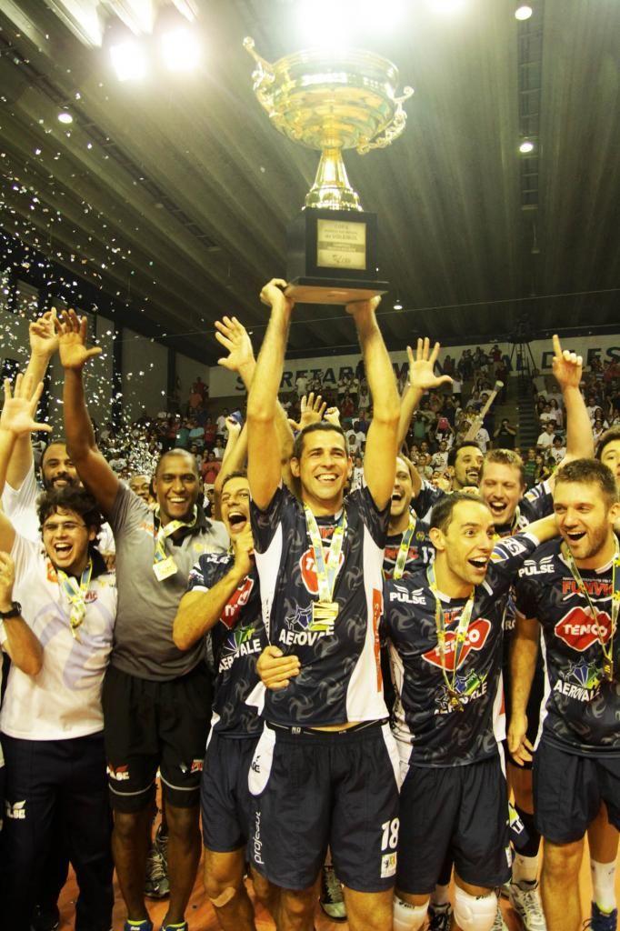 Taubaté Funvic é campeão da Copa Banco do Brasil de Voleibol masculino