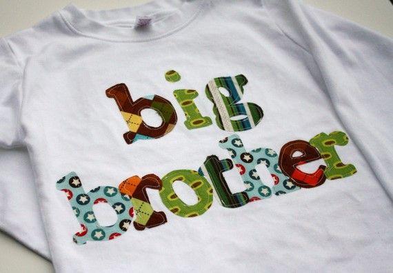 Big Brother Shirt Big Bro Shirt Sibling Shirt by roundthebendagain