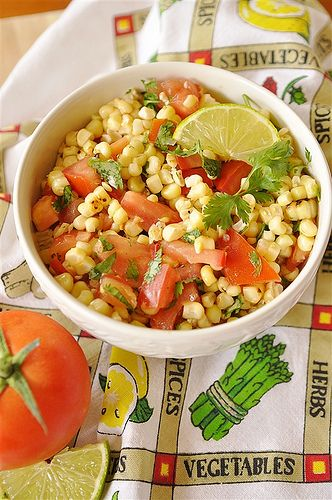 Roasted Corn Summer Salad: Side Dishes, Cilantro Limes, Corn Summer, Roasted Corn Salad, Corn Saslad, Summer Corn Salad, Homebas Mom, Summer Salads, Homeba Mom