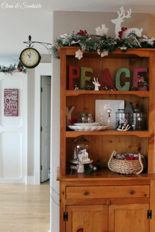 Beautiful Christmas Home Tour With Lots Of Great Decorating Ideas Cleanandscentsible
