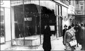 Kristallnacht - The Night of Broken Glass