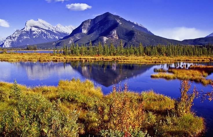 Seenlandschaft im Banff Nationalpark