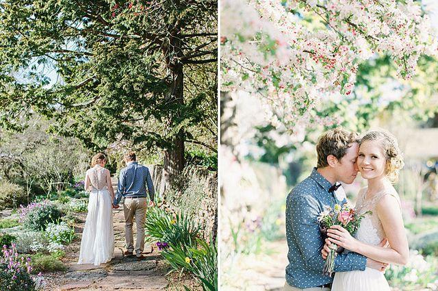 jodie + tim | everglades garden spring time wedding in leura, nsw by Leah Kua, via Flickr