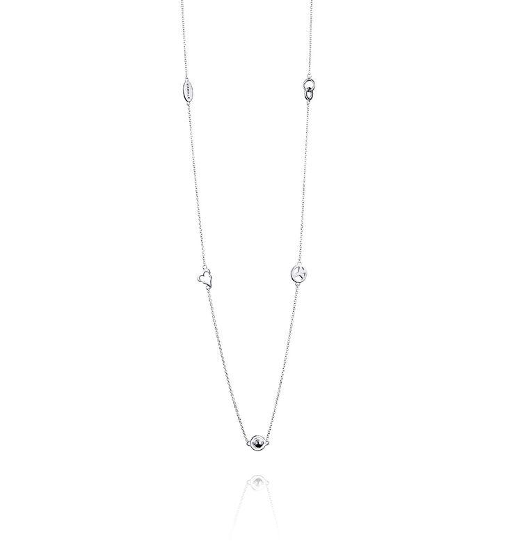 Mini Family Necklace - Silver - Halsband - Efva Attling