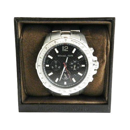 Reloj de caballero de Michael Kors en acero y negro. Lo tienes en Look and Stop