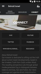Behold Israel: miniatura da captura de tela