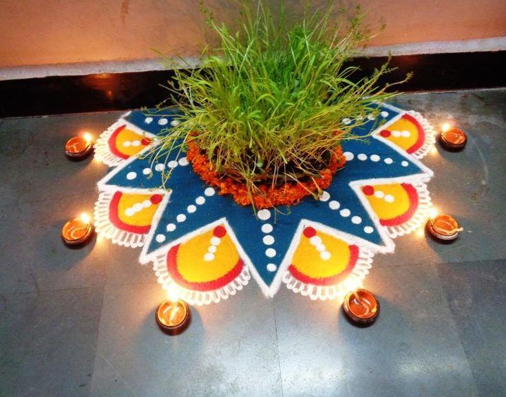 beautiful latest dussehra rangoli/dussehra kolam by latest rangoli