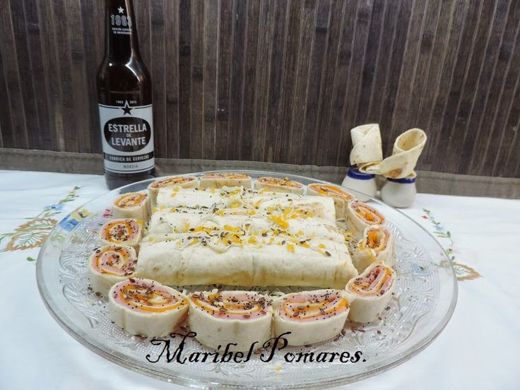 COCINANDO CON MARIBEL: Wraps de jamón york y queso.