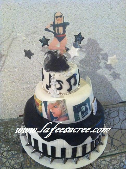 wedding cake Lady Gaga  gâteau Lady Gaga