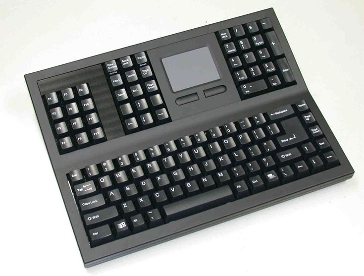 Ergo Keyboard with Touchpad | Touchpad Keyboard and Ergonomic Touchpad Keyboards