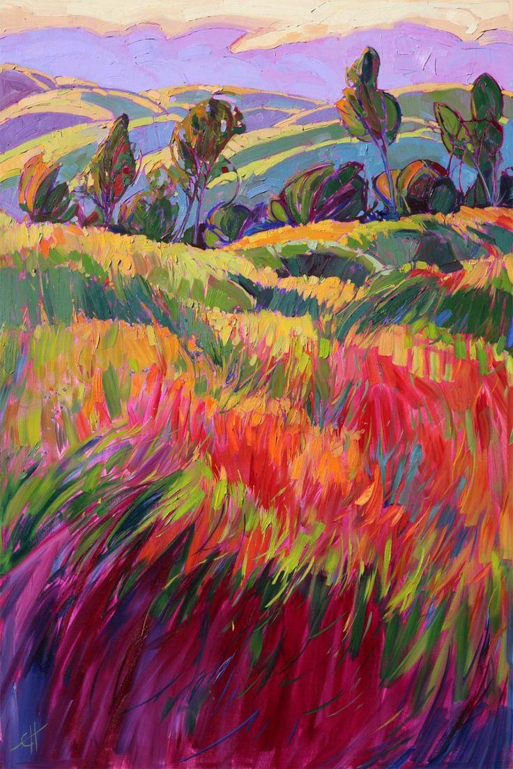 Paso Robles by modern California impressionist Erin Hanson
