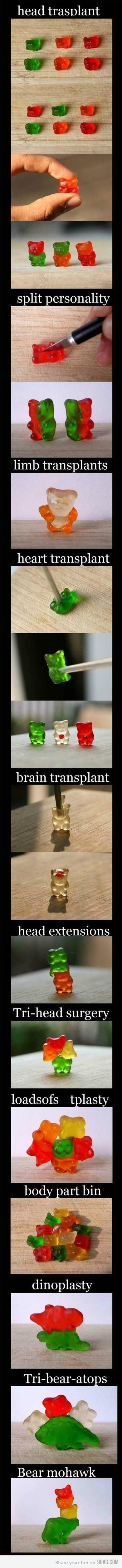 man... ive only done head transplants... i feel so inferior