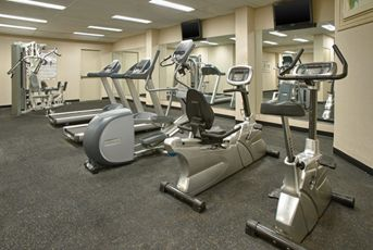 Work up a sweat in our 24-hour fitness centre.
