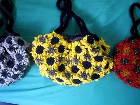 Crochet Flower Purse 5
