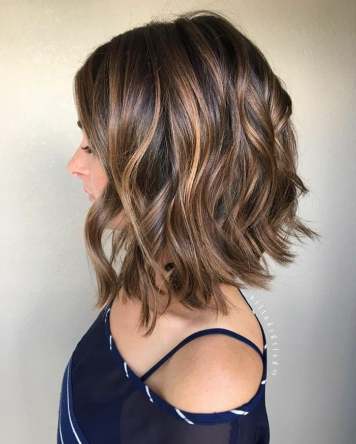 1001 Ideen Zum Thema Welche Frisur Passt Zu Mir Einfache Frisuren Mittellang Schulterlange Haare Frisuren Coole Frisuren