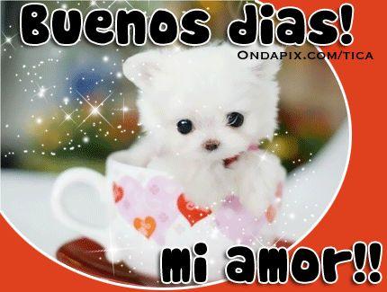 Mensaje Buenos Dias Mi Amor Betty Boop Good Morning Good