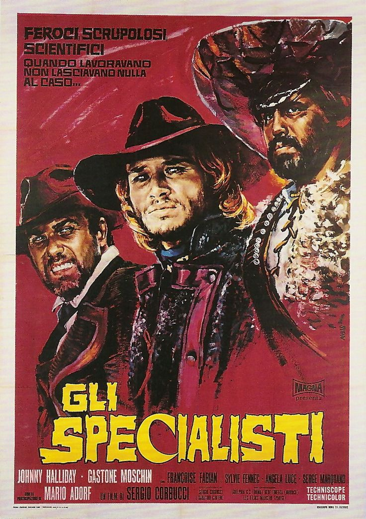 Sergio Corbucci's THE SPECIALIST (aka GLI SPECIALISTI, aka DROP THEM OR I'LL SHOOT!)