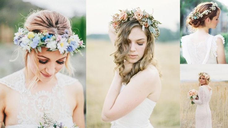 A great variety for your head piece for a garden theme wedding. Flower may be Berries, pine cones, peonies, tulips, roses, lilies etc http://www.bridaltweet.com/profiles/blogs/whimsical-garden-wedding-inspirations-and-ideas-2015#Greenweddingtheme #123WeddingCards