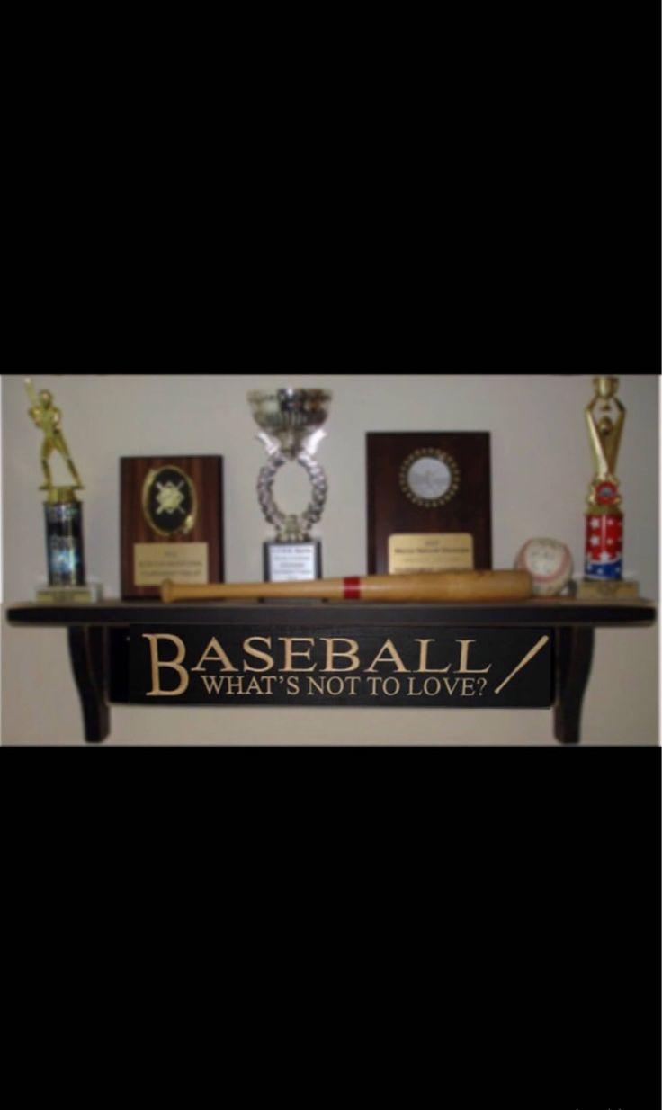 Baseball ShelfBaseball GiftBaseball Trophy Bedroom
