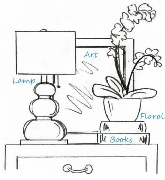 mirrors behind nightstand - Google Search