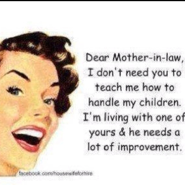 Loving Mother In Law Quotes: 41 Best Images About Funny But So True On Pinterest