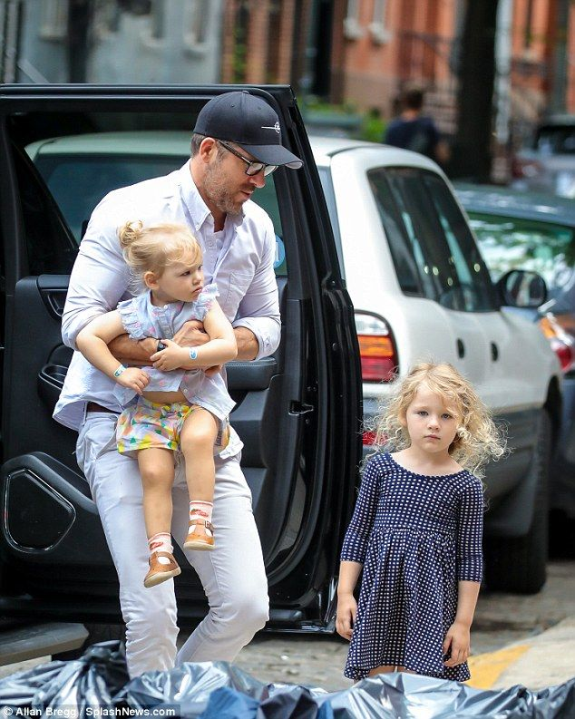Ryan Reynolds is every inch the family man with Blake