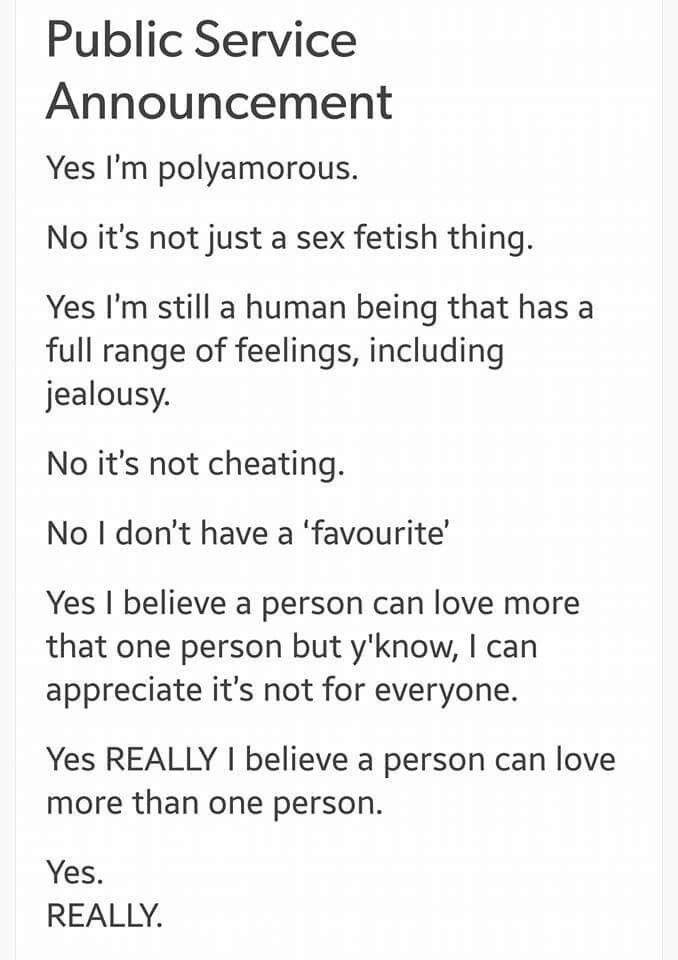 Polyamory vs open relationship