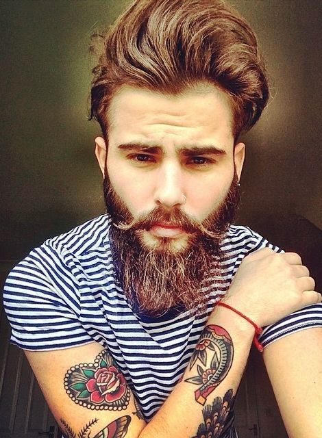 Superb 1000 Images About Facial Hair On Pinterest Short Hairstyles Gunalazisus