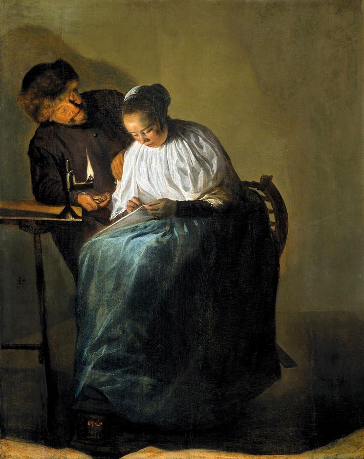 The Athenaeum - The Proposition (Judith Leyster - )