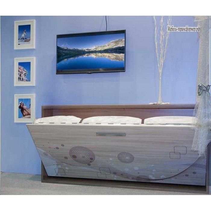 Механизм горизонтальной шкаф (комод) кровать трансформер РФ 105