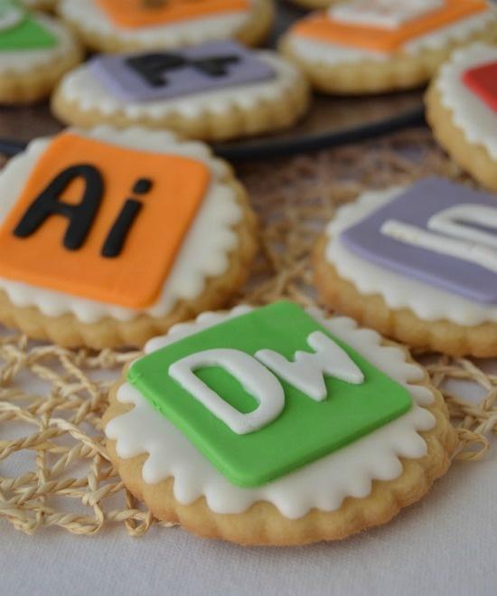 Adobe cookies pack. Creative cookies.