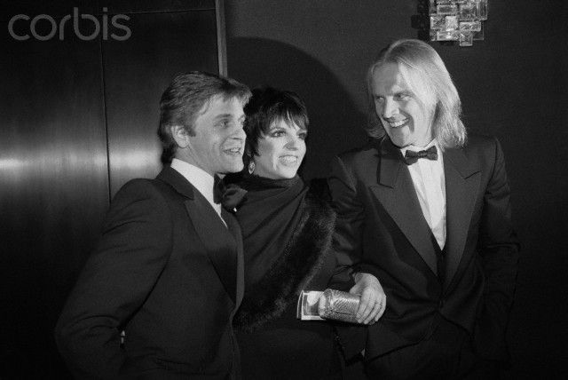 Liza Minnelli with Mikhail Baryshnikov and Alexander Godunov