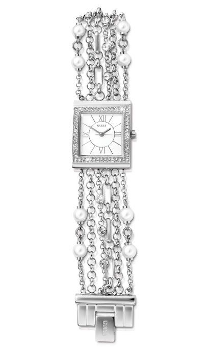 Guess Silver and Cubic Zirconia Watch R1,995  *Prices Valid Until 25 Dec 2013