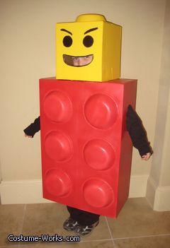 Lego Man! - Halloween Costume