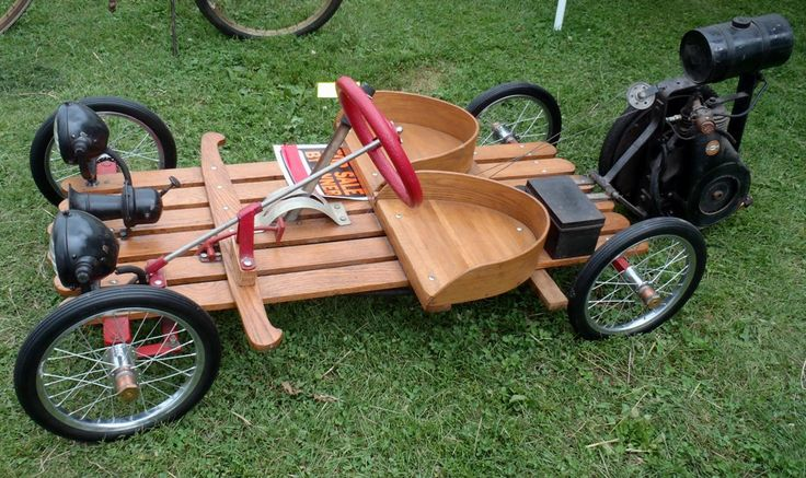 Home Made Wooden Go-Kart by Caveman1a
