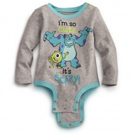 So Cute MONSTERS INC. Disney Cuddly Bodysuit