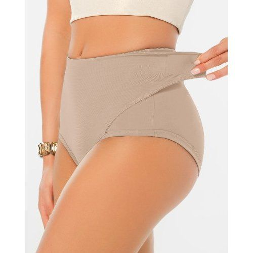 Postpartum Panty with Adjustable Belly Wrap - C Section, Leonisa - Panties,Nude,Medium