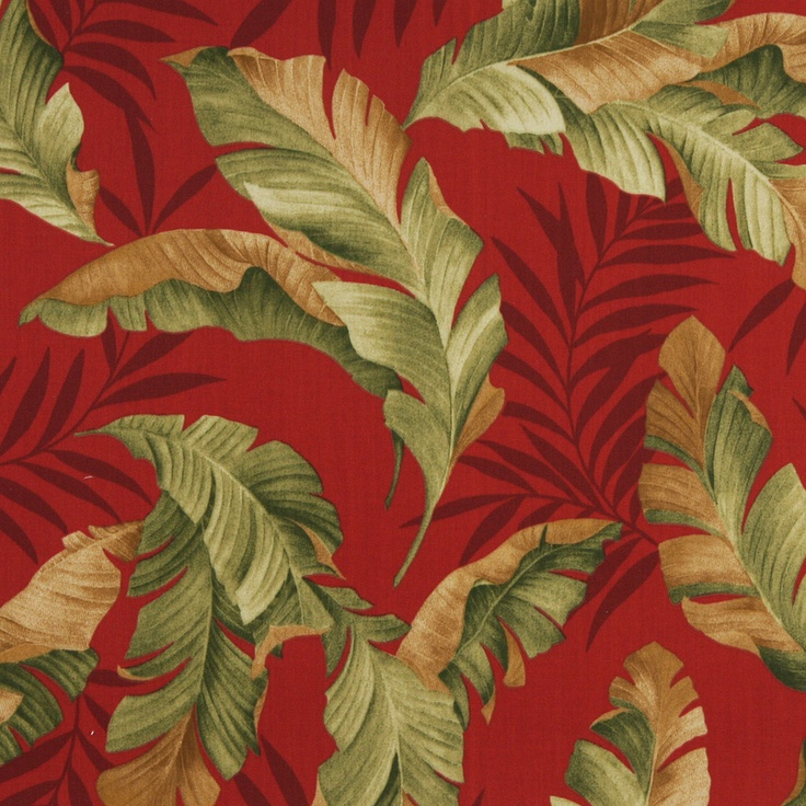 Poppy Burgundy And Gold Contemporary Outdoor Upholstery Fabric