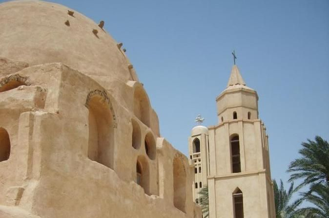 Day Tour to Wadi El Natrun Private day tour visiting the oldest Christian monasteries. Private tour includes all pickup and drop off transfers from your location in Alexandria, entry fees, expert tour guide water and snacks.At 8:00 am pickup from your hotel by our expert licensed tour guide then drive 120 K/M south of Alexandria to Wadi El Natrun desert area the actual birth place for Christian monasticism. There was once about 50 monasteries, only 4 have survived into modern ...