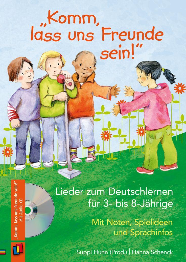 Mit Noten, Spielideen und Sprachinfos ++ Audio-CD mit Praxisratgeber, für ErzieherInnen in Kitas, für DaZ-, DaF- und Deutschlehrer an Grund- und Förderschulen sowie für Ehrenamtliche, Bildungsbereiche: Deutsch als Zweitsprache, Sprachförderung, Alter: 3–8 Jahre ++ 10 einprägsame Lernlieder, speziell für Deutschanfänger konzipiert + Kindgerechte Sprache, eingängige Ohrwürmer und viele Wiederholungen + Begleitheft mit Umsetzungs- und Spielideen, Tipps und Hintergrundinfos | #DaZ