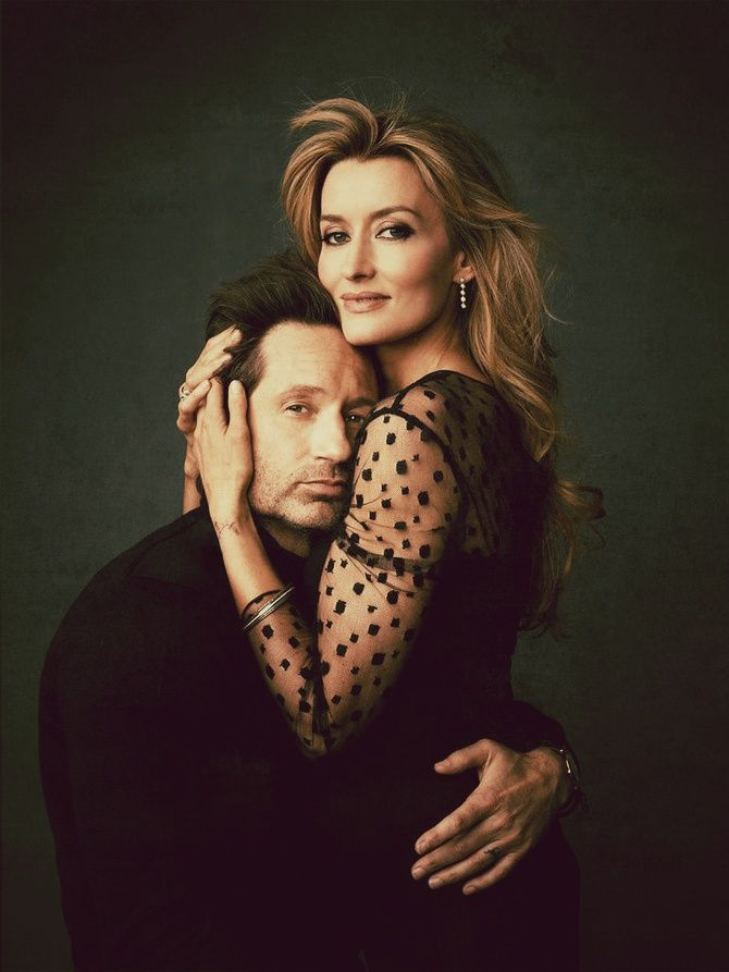 David Duchovny and Natascha McElhone | Californication