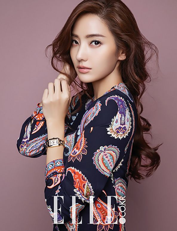 Han Chae Young Elle Magazine December 2015 photos
