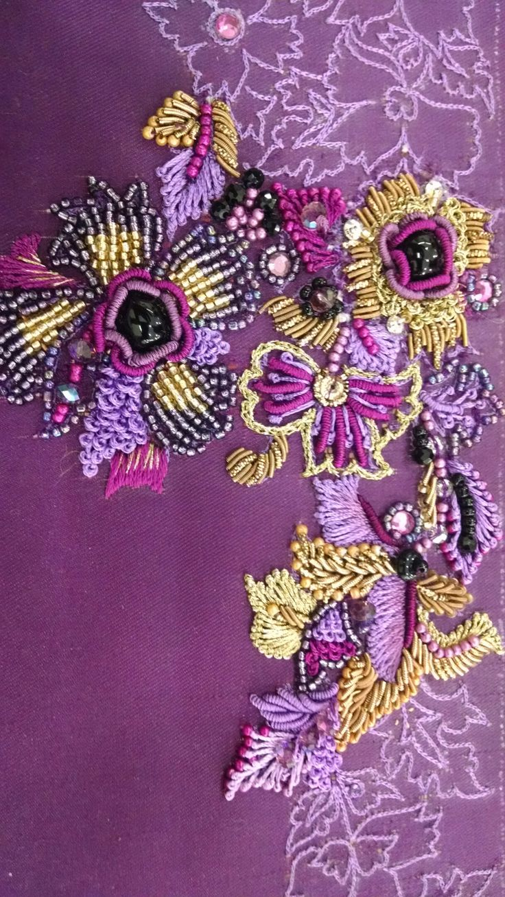 Best broderie cu margele bead embroidery images on