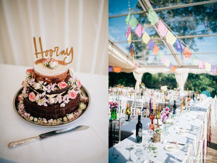 The Chilled Out Castle & Beach Wedding wedding cake ideas