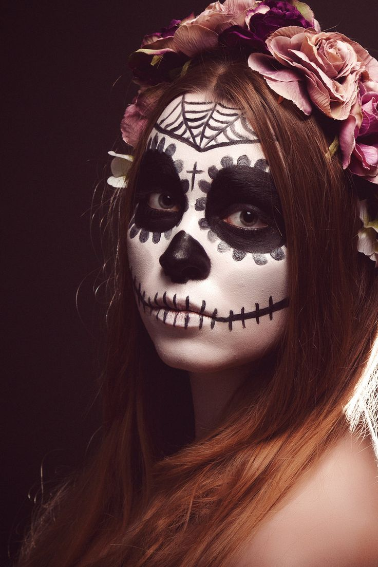 Cringiest Makeup Tutorials Of All Time: 1000+ Images About La Catrina (Day Of The Dead) On