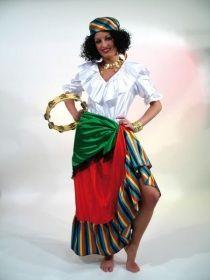 Faschingskostüm Zigeunerin Esmeralda