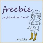a girl and her friend (Freebie)