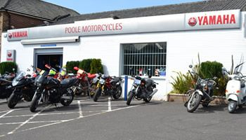 Poole Motorcycles is Dorset's Exclusive Premier Yamaha dealer. Established in 1982. We supply all the latest new Yamaha motorcycles, road bikes, scooters, adventure and off-road and fun bikes. We have a constantly changing stock of second hand motorcycles on display in our showroom. All machines come with Road Tax and M.O.T. where applicable. Extended warranties are also available on our used bikes.