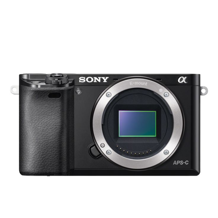 Sony α6000 E-Mount-Kamera mit APS-C-Sensor