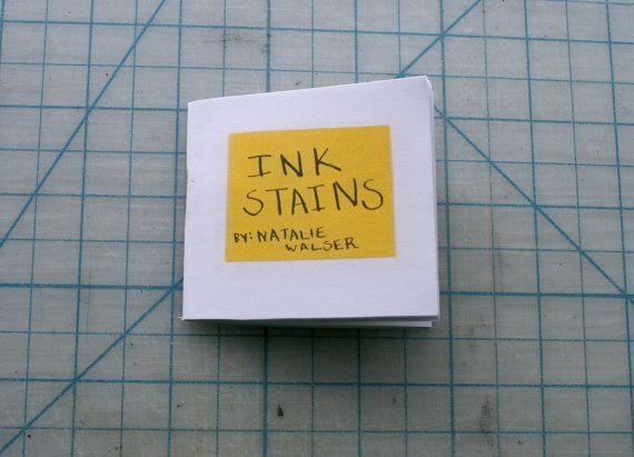 Dieses Zine ist eine Zusammenstellung von Tinte Scratchpads eine Monate lange kreative Ader. Mit einem Pinsel sowie einen Sprung-Stift, wurde Tinte